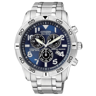 Citizen-Mens-Stainless-Steel-Eco-Drive-Chronograph