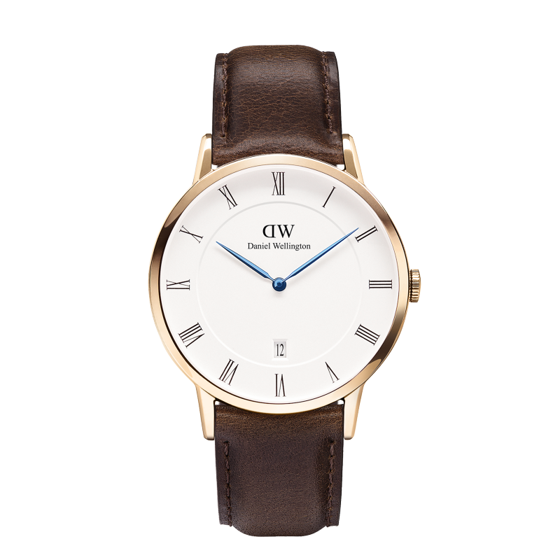 dapper bristol rose gold watch
